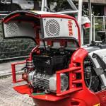 Hybride Minigraver Takeuchi TB216H