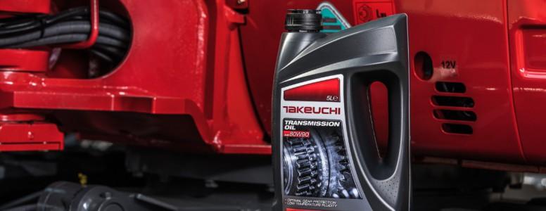 Nouveau: huile et liquide de refroidissement takeuchi