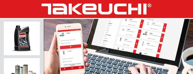 Commandez dès maintenant en ligne sur le shop de pièces détachées Takeuchi