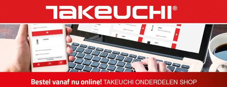 Bestel vanaf nu eenvoudig online op de Takeuchi Onderdelen Shop