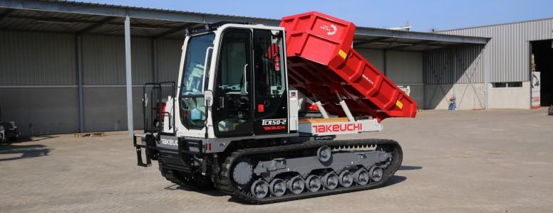 Nieuwe Takeuchi machines 2020!