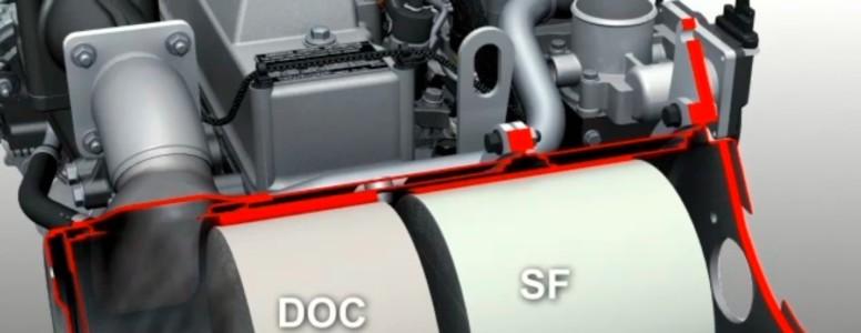 Waarom zit er een roetfilter op een graafmachine?
